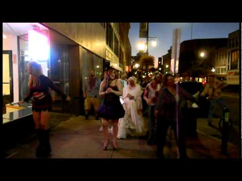 Binghamton Zombie Walk (Lunatics I say!)