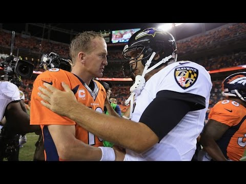 Owen Daniels on the difference between Peyton Manning and Joe Flacco