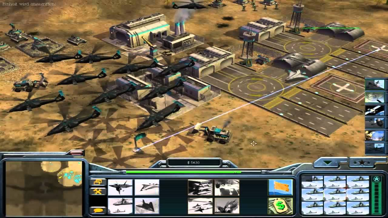 Command and Conquer Generals 2 / German commentary/ Gameplay/ 1 vs.1 ! - YouTube