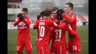 Топ-10 голов молодежного состава «Спартака» в сезоне 2016/2017
