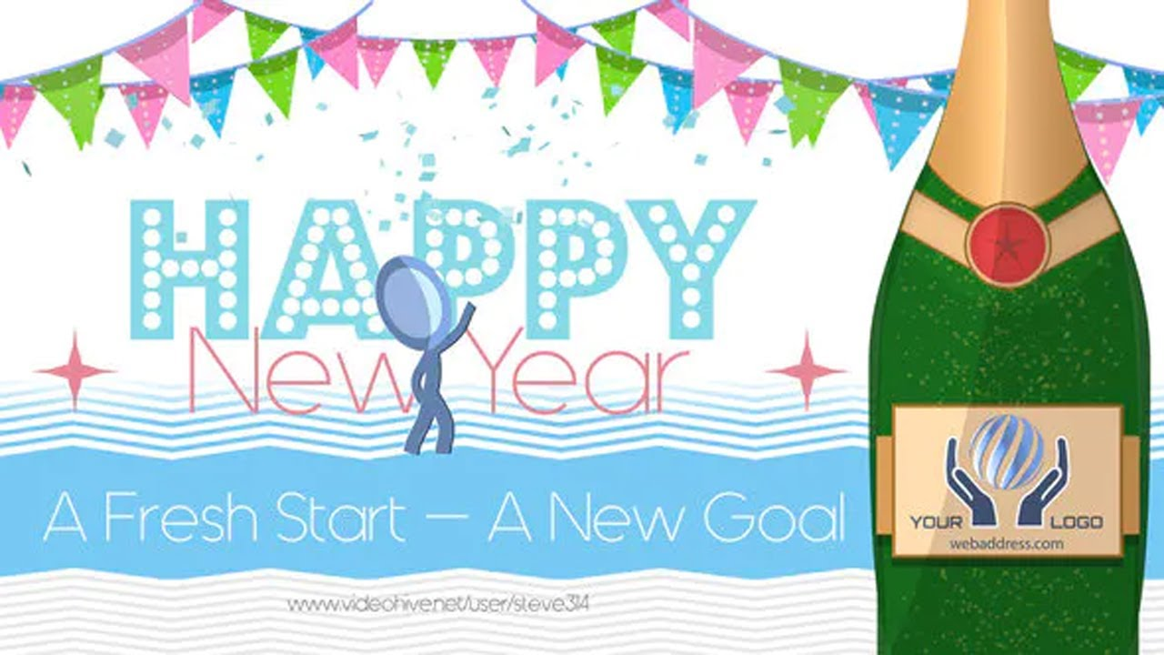 5 Amazing After Effects Templates for Happy New Year 2021 ...