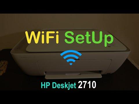 HP Deskjet 2710 WiFi SetUp, Quick Test & review !!