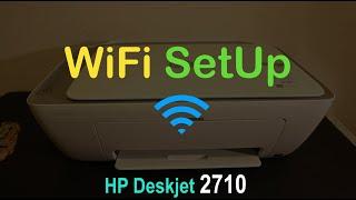 HP Deskjet 2710 WiFi SetUp, Quick Test !!