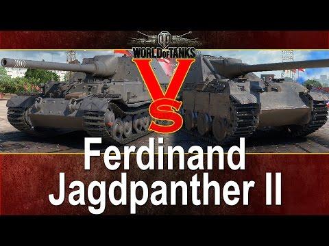 15 x Ferdinand vs 15 x Jagdpanther II - Kto wygra? - World of tanks