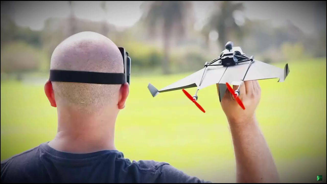 POWERUP X FPV – Smartphone Controlled Paper Airplane 2 фотки