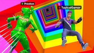 Reverse Rainbow Dropper vs Typical Gamer for 100k VBucks! - Challenge