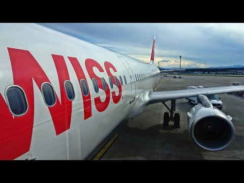SWISS INTL. AIR | ZURICH-STOCKHOLM | ECONOMY CLASS | AIRBUS A321