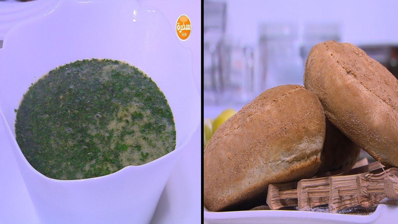 جلاش حلو - خبز شمسي - لحمة محمرة - لمون بالنعناع - ملوخية : على قد الإيد حلقة كاملة