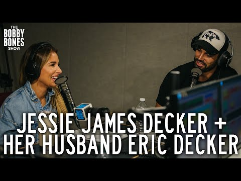 Jessie James Decker & Eric Decker on the Bobby Bones Show