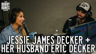Jessie James Decker & Eric Decker on the Bobby Bones Show