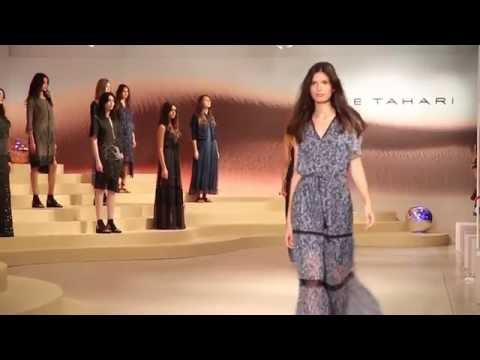 Spring 2016 Elie Tahari Presentation - YouTube