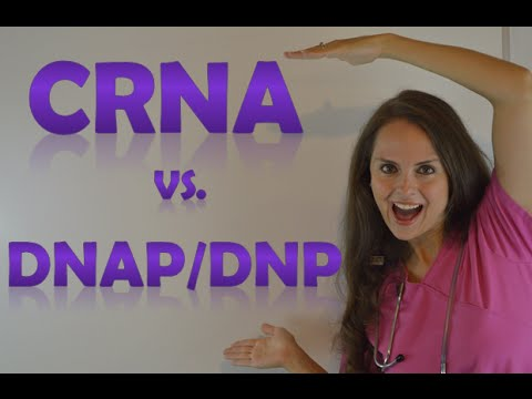 CRNA vs DNAP & DNP School | Certified Registered Nurse Anesthetists Program Changes