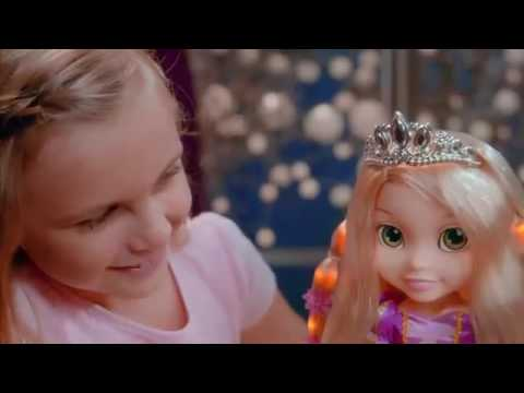 My First Disney Princess Magic Hair Glow Rapunzel Doll In Australia