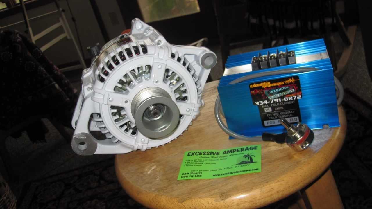 Unboxing my Excessive Amperage 300 and alt with a External Voltage – Dodge External Voltage Regulator Wiring
