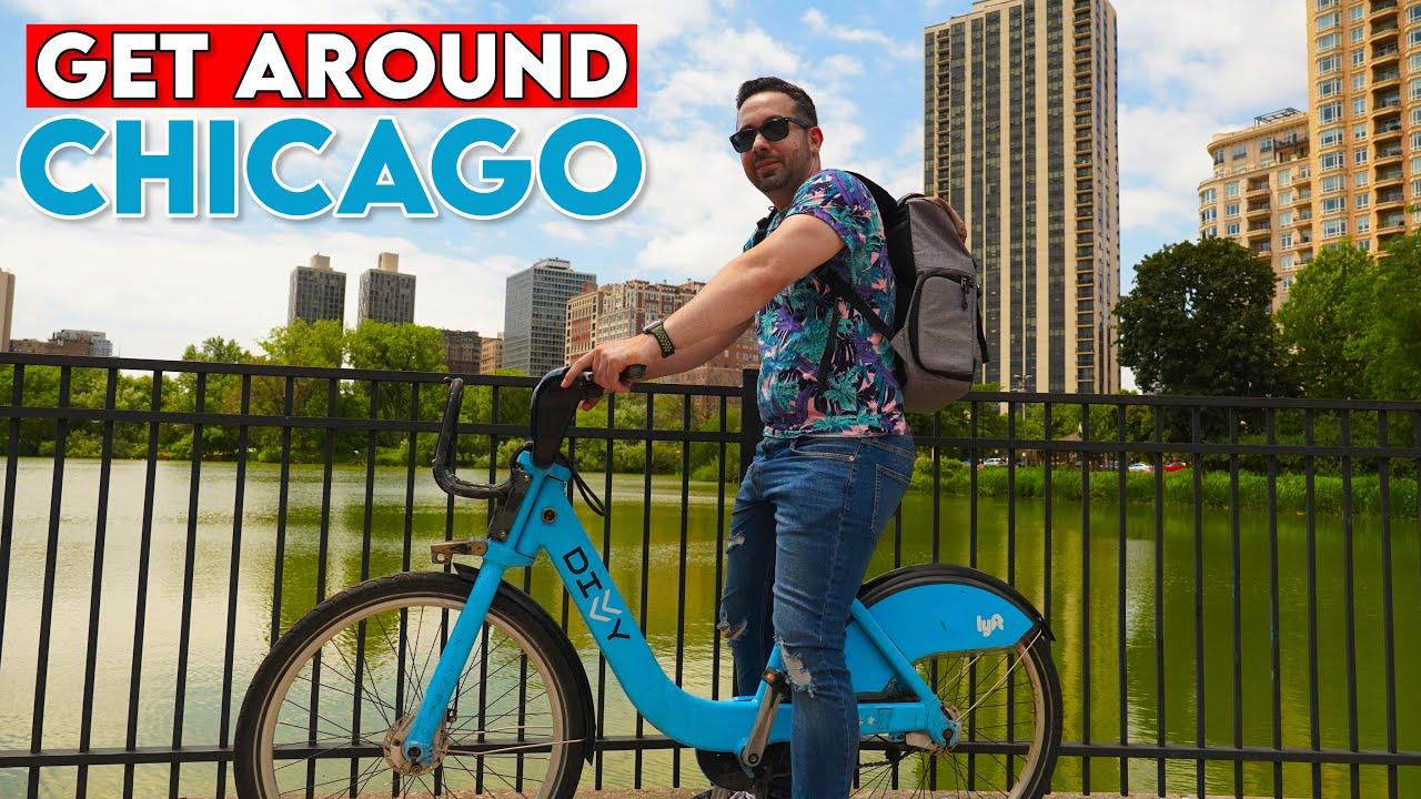 HOW TO GET AROUND CHICAGO USING DIVVY BIKE SHARING SYSTEM - Biking Chicago Travel Guide & Vlog