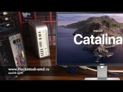 Установка MacOS Catalina 10.15 – хакинтош под Mac Mini I3-3245 Intel HD4000