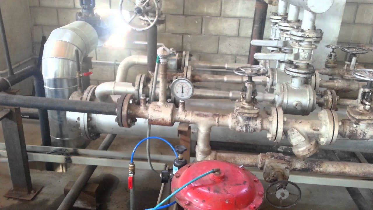 2 MW Steam turbine Startup