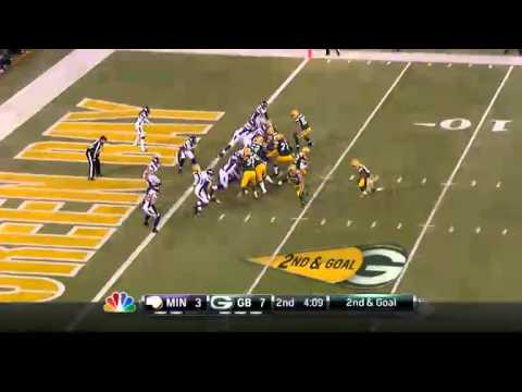 Packers vs Vikings 2013 playoff highlights