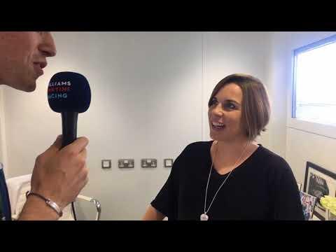 Williams TV: Claire Williams talks to Paul di Resta at the Italian Grand Prix