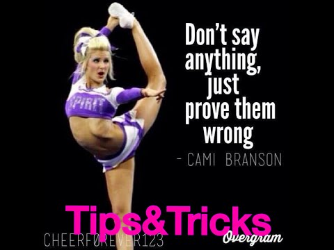 Tips and Tricks: on how to be a better cheerleader!