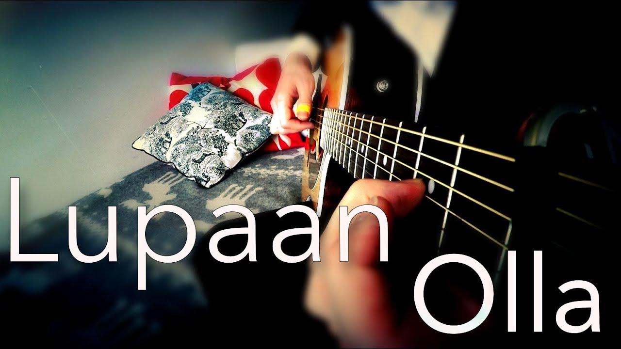 nopsajalka-lupaan-olla-fingerstyle-guitar-cover-joni-laakkonen-f-guitar-music