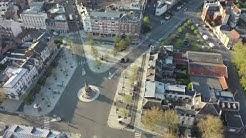 Images de drone de Saint-Quentin