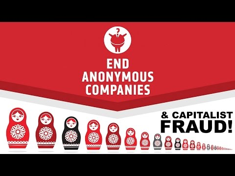 Anonymous Companies & Capitalistic FRAUD!