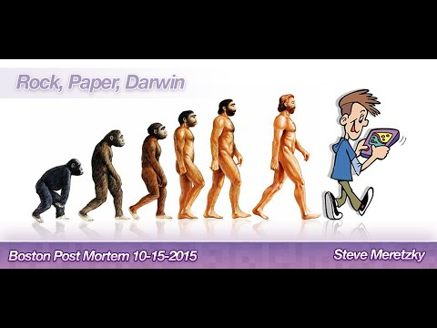 "Steve Meretzky - ""Rock, Paper, Darwin"" - Boston Post Mortem: October 2015 Meeting"