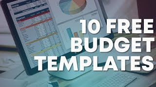 10 Free Budget Templates (Download Now)