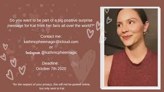 Call for fans: Surprise for Katharine McPhee