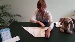 Hoe vouw ik een flat in origamifold?