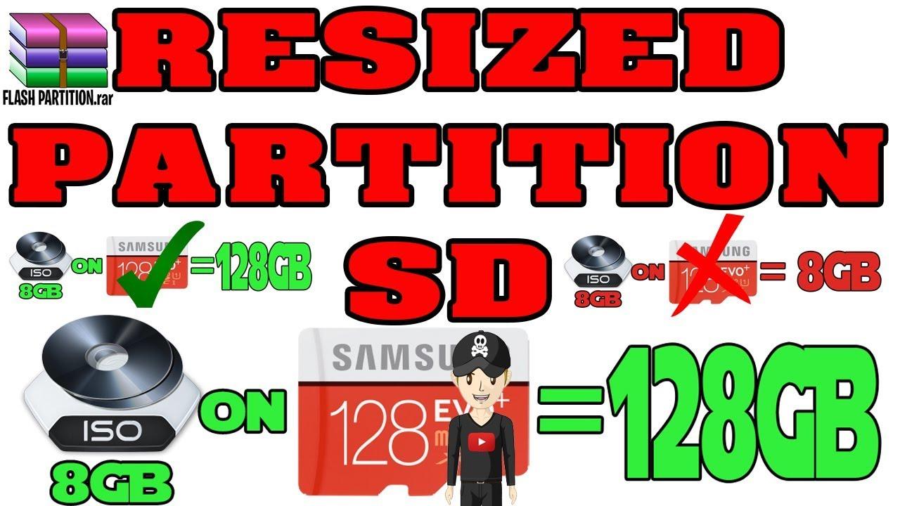 ETENDRE PARTITION SD - RESIZE PARTITION SD RECALBOX, BATOCERA, RETROPIE NO  GPARTED