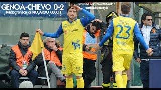 GENOA-CHIEVO 0-2 - Radiocronaca di Riccardo Cucchi (15/3/2015) da Radiouno RAI