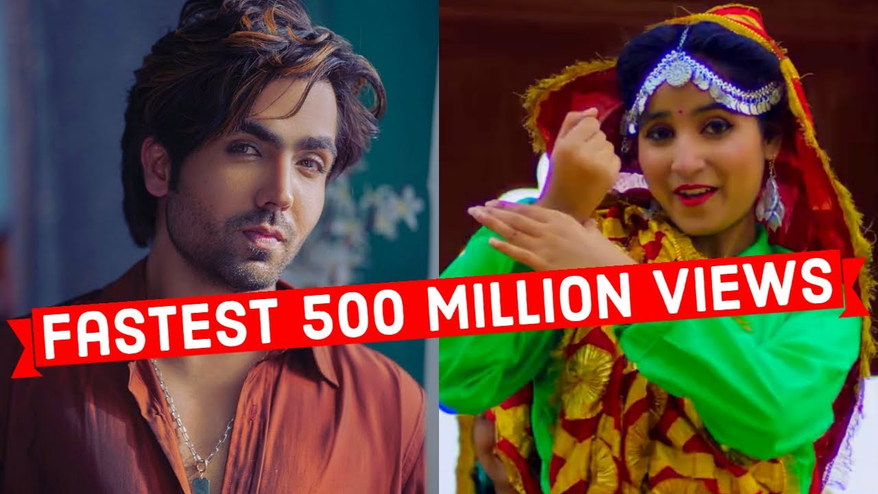 Fastest 500 Million Views Indian Songs (Top 15)