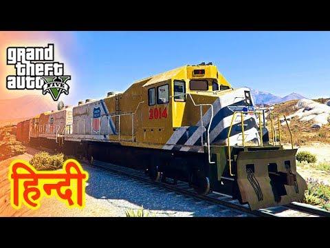 GTA 5 - High Speed Train Experiment With Trevor thumbnail