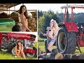 X-TRACTOR Brave Irish women are almost completely naked on the calendar of Tractor Girls