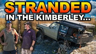10 DESTROYED TYRES IN 50KM – Making our own track in 2m+ tall scrub! Kimberley after the wet season
