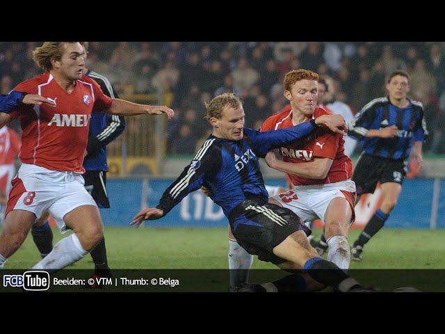 2004-2005 - UEFA-Cup - 04. Groep C Match 2 - Club Brugge - FC Utrecht 1-0