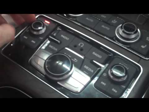 2011 audi a8 rear seat entertainment overview youtube. Black Bedroom Furniture Sets. Home Design Ideas