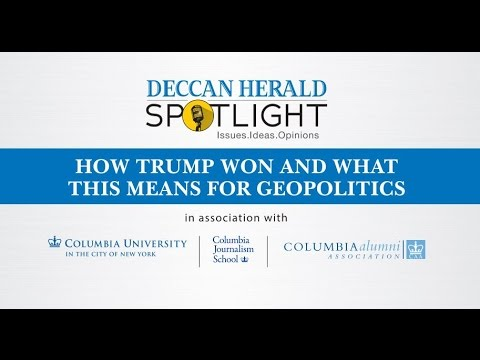 Deccan Herald Spotlight - A conversation with Steve Coll, Nitin Pai and B S Arun