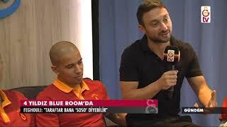 Gündem | Futbolcular Blue Room'da (16 Ağustos 2017)