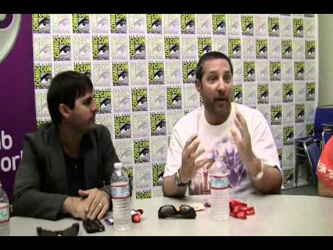 San Diego Comic-Con 2011 - Post Prime panel roundtable 1