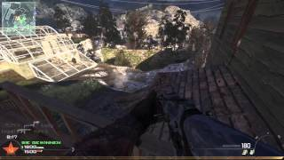 Call of Duty MW2 Estate - ACR w/Reddot PC Nuke Gameplay