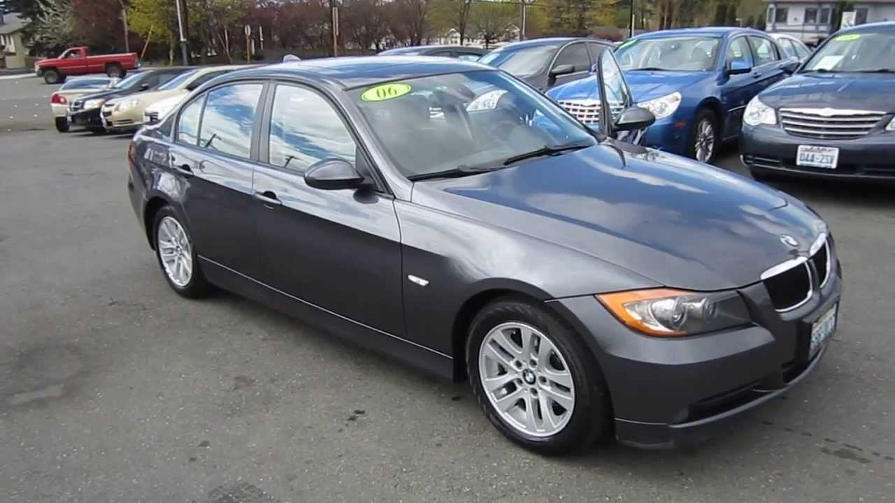 2006 bmw 325i dark silver stock lt12340 walk around