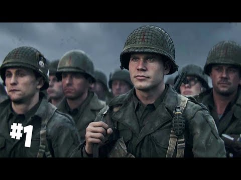 Army me Bharti | Call of Duty World War 2 Walkthrough (COD WW2) Part 1 Hindi Gameplay thumbnail