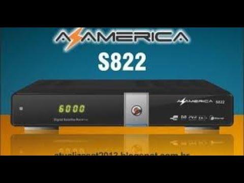 nova atualizacao azamerica s822