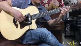 Test Tiếng Guitar Pickup QH-6B - Acoustic Guitar Việt Nam - Phần 3