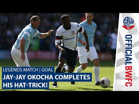 LEGENDS MATCH | GOAL | Jay-Jay Okocha completes his hat-trick!