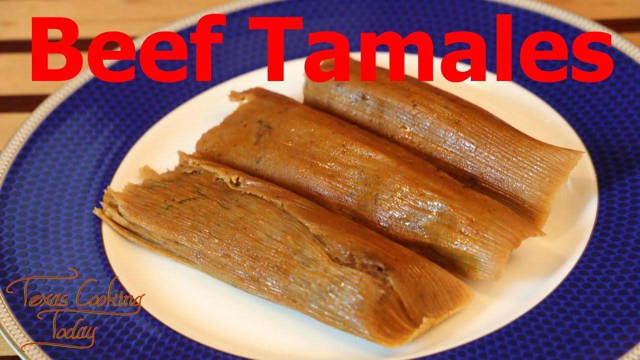 Beef Tamales Recipe Tutorial S5 Ep 520 Youtube