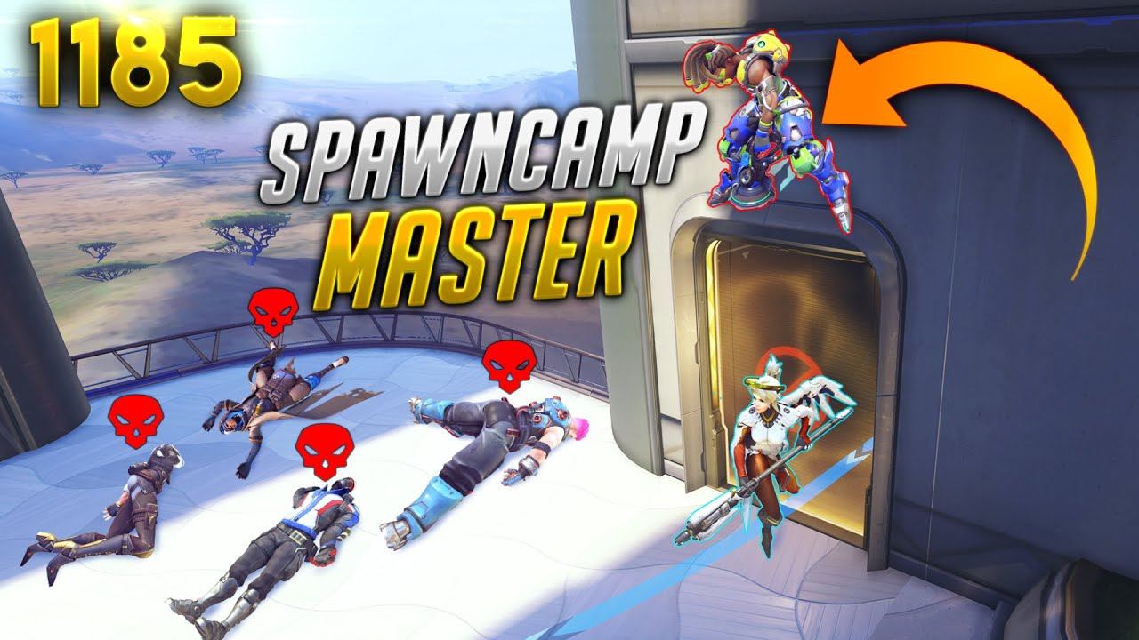 This Lúcio IS A SPAWNCAMP *MASTER* | Overwatch Daily Moments Ep.1185 (Funny and Random Moments)